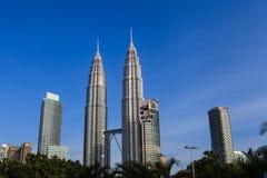 Las torres gemelas de Petronas Foto de archivo libre de regalías