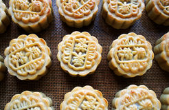 Las tortas de luna del festival-diy del Mediados de-Otoño Imagen de archivo libre de regalías