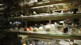 Las tortas dulces muestran metrajes