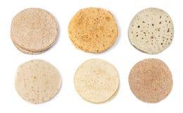 las tortillas de maíz imagenes de archivo
