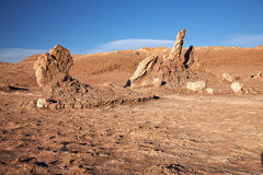 Las Tres Marias, desierto de Atacama, Chile Imagen de archivo libre de regalías