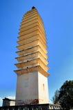 Una de las tres pagodas fotografía de archivo