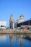 Las tres tolerancias, Liverpool Imagen de archivo libre de regalías