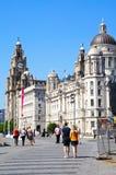 Las tres tolerancias, Liverpool Foto de archivo libre de regalías