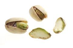 Las tuercas de pistacho Foto de archivo libre de regalías