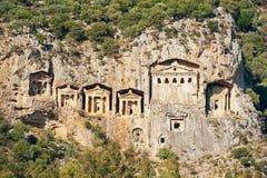 Las tumbas de la roca Foto de archivo