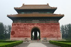 Las tumbas de Ming fotos de archivo