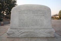 Las tumbas de Ming Fotografía de archivo libre de regalías