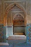 Las tumbas de Sadiane en Marrakesh fotografía de archivo