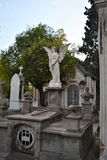 Las tumbas en el cementery viejo en Puebla City6 fotografía de archivo libre de regalías
