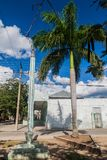 LAS TUNAS, CUBA - JAN 27, 2016: Monumento a Alfabetizacion Monument of the literacy in Las Tun royalty free stock photography