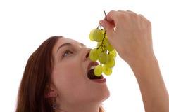 Las uvas Foto de archivo libre de regalías