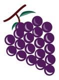 Las uvas Foto de archivo