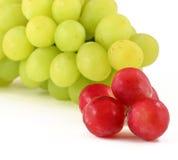Las uvas se cierran para arriba imágenes de archivo libres de regalías