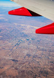 Las Vagas from 20,000 feet Stock Images