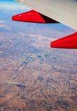 Las Vagas van 20.000 voet Stock Afbeeldingen