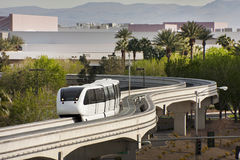 Las Vega Green Energy Fully Automated MonoRail Royalty Free Stock Image