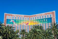 Las Vegas, île de trésor Image stock