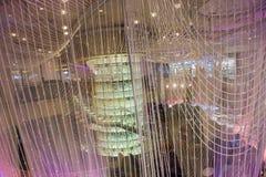 Las Vegas, świecznika bar Zdjęcia Royalty Free