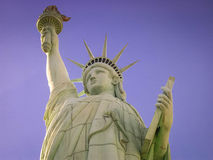 las vegas αγαλμάτων ελευθερία&sigm Στοκ φωτογραφίες με δικαίωμα ελεύθερης χρήσης