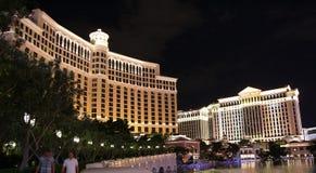Las Vegas на ноче стоковое изображение