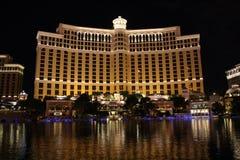 Las Vegas на ноче стоковые изображения