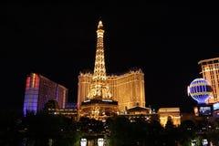 Las Vegas на ноче стоковое изображение rf