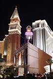 Las Vegas на ноче стоковая фотография