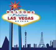 Las Vegas illustration stock