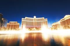 Las Vegas - 11 de septiembre de 2010 - casino del hotel de Bellagio Fotografía de archivo