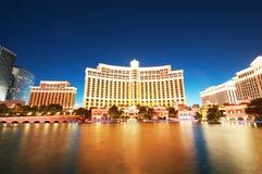 Las Vegas - 11 settembre 2010 - casinò dell'hotel di Bellagio Immagini Stock