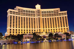Las Vegas. Bellagio Hotel/Casino in Las Vegas royalty free stock photography