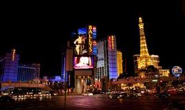 Las Vegas. Strip at night stock image