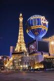 Las Vegas. The strip in Las Vegas after sunset stock photos