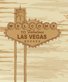 Las vegas. Grunge welcome to fabulous las vegas nevada sign. vector Royalty Free Stock Images