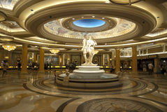LAS VEGAS - 25 SEPTEMBER: De ontvangst van het Caesars Palace Royalty-vrije Stock Foto's