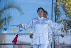 Las Vegas, Año Nuevo chino Imagenes de archivo