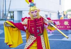 Las Vegas, Año Nuevo chino Foto de archivo libre de regalías