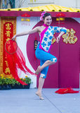 Las Vegas, Año Nuevo chino Imagen de archivo libre de regalías