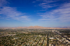 Las Vegas from Above. View of northern Las Vegas from the top of Stratosphere tower Stock Images