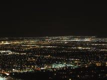 Las Vegas - Aereal night view Royalty Free Stock Image