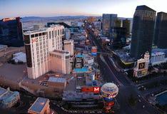 Las Vegas aerial view Stock Image