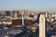 Las Vegas Afternoon Royalty Free Stock Images