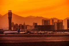 Las Vegas Airport Stock Photo