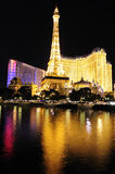Las Vegas alla notte Immagini Stock