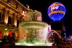 Las Vegas alla notte Immagine Stock