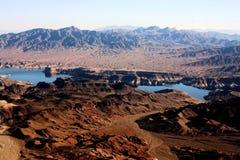Las Vegas alle montagne del grande canyon Fotografie Stock Libere da Diritti