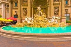 Las Vegas Amerikas förenta stater - Maj 05, 2016: Caesars Palacehotellet på Oktober 05, 2016 i Las Vegas Fotografering för Bildbyråer