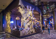 Las Vegas aria Fotografia Royalty Free