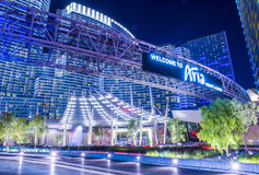 Las Vegas Aria Stock Photography